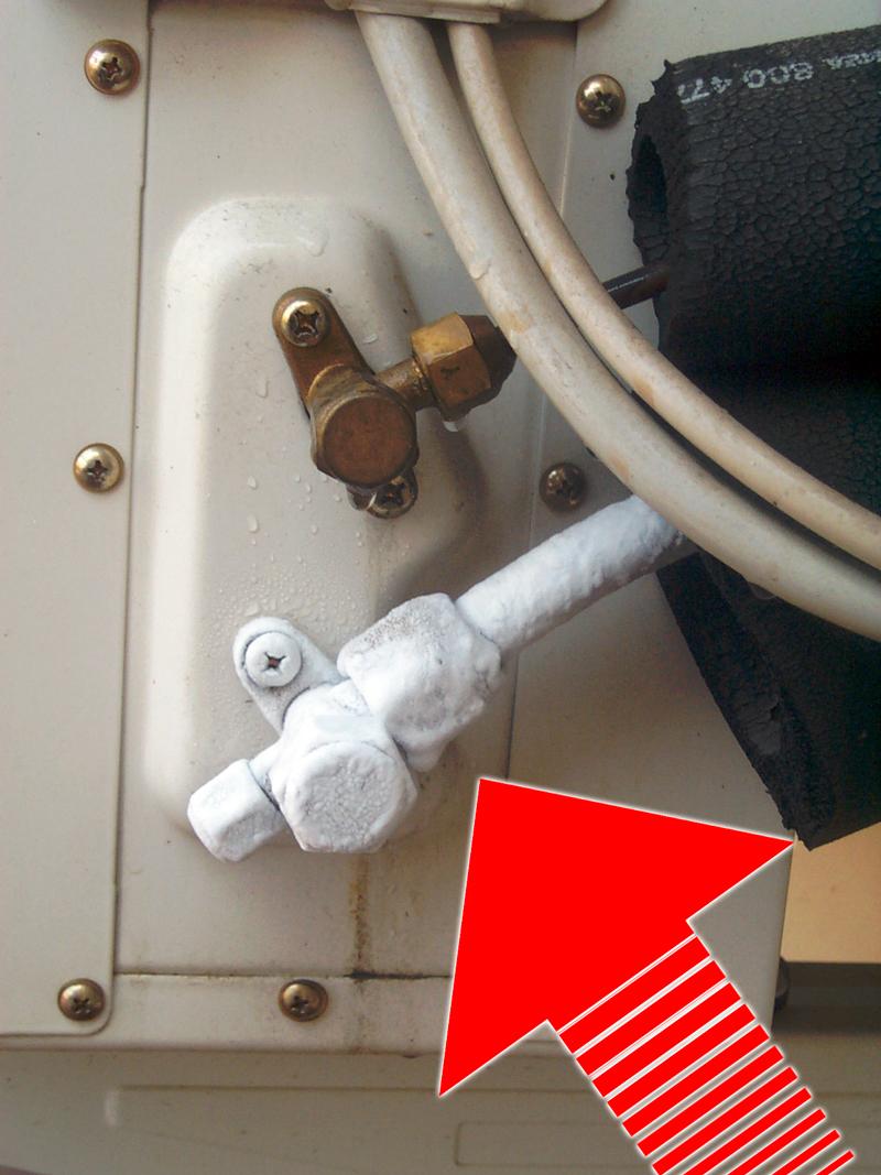 tubo condensa condizionatore non