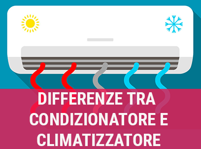 differenze tra condizionatore climatizzatore