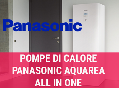 Pompa di calore Panasonic Aquarea All In One H Generation