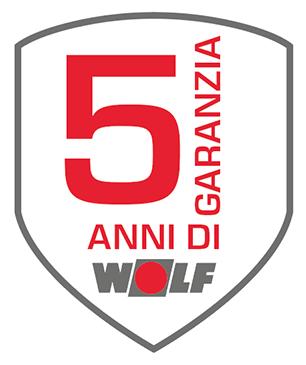 Garanzia 5 anni wolf